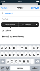 Apple iPhone 5 iOS 8 - E-mail - envoyer un e-mail - Étape 8