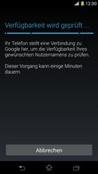 Sony Xperia Z1 Compact - Apps - Konto anlegen und einrichten - Schritt 9