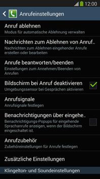 Samsung N9005 Galaxy Note 3 LTE - Anrufe - Rufumleitungen setzen und löschen - Schritt 6