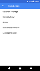 Sony Xperia XA2 - Messagerie vocale - configuration manuelle - Étape 7