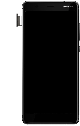 Nokia 5.1 - Appareil - comment insérer une carte SIM - Étape 6
