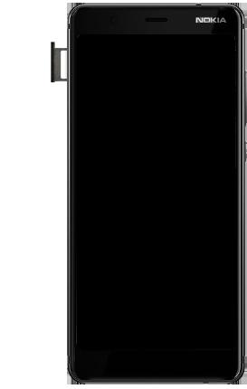 Nokia 5.1 - Toestel - simkaart plaatsen - Stap 6