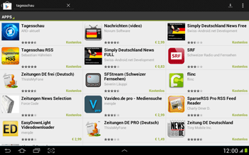 Samsung Galaxy Note 10-1 - Apps - Herunterladen - 6 / 22