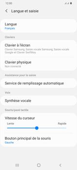 Samsung Galaxy S20 Plus 5G - Prise en main - Comment ajouter une langue de clavier - Étape 6