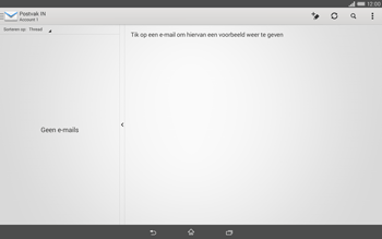 Sony Xperia Tablet Z2 4G (SGP521) - E-mail - Handmatig instellen - Stap 19