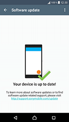 Sony Xperia XZ (F8331) - Device - Software update - Step 7