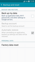 Samsung A300FU Galaxy A3 - Device - Factory reset - Step 6