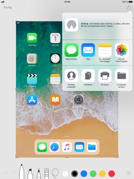 Apple iPad mini 3 - iOS 11 - Bildschirmfotos erstellen und sofort bearbeiten - 1 / 1