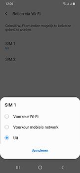 Samsung Galaxy A20e - Bellen - bellen via wifi (VoWifi) - Stap 7