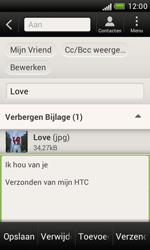 HTC T328e Desire X - E-mail - E-mails verzenden - Stap 14