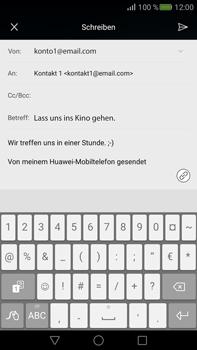 Huawei Mate S - E-Mail - E-Mail versenden - Schritt 10