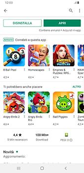 Samsung Galaxy Note9 - Android Pie - Applicazioni - Installazione delle applicazioni - Fase 17