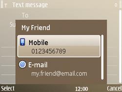 Nokia E72 - MMS - Sending pictures - Step 7