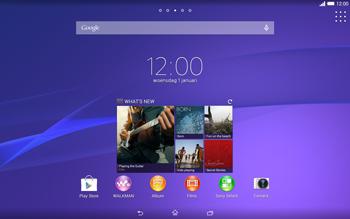 Sony Xperia Tablet Z2 (SGP521) - Bluetooth - koppelen met ander apparaat - Stap 1