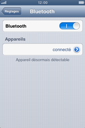 Apple iPhone 3GS - Bluetooth - Jumelage d