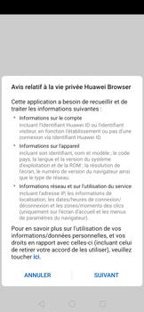 Huawei Nova 5T - Internet et connexion - Naviguer sur internet - Étape 4