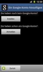 Samsung Galaxy S Plus - Apps - Konto anlegen und einrichten - 5 / 20