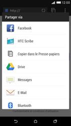 HTC Desire 816 - Internet et connexion - Naviguer sur internet - Étape 22
