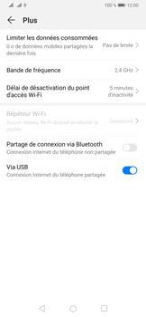 Huawei P30 - Internet et connexion - Utiliser le mode modem par USB - Étape 9
