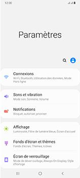 Samsung Galaxy A70 - Internet et connexion - Accéder au réseau Wi-Fi - Étape 4
