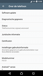 Sony Xperia X Performance (F8131) - Toestel - Software updaten - Stap 6