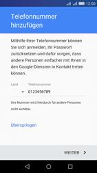 Huawei Y6 - Apps - Konto anlegen und einrichten - 0 / 0