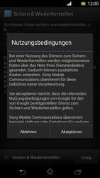 Sony Xperia T - Apps - Konto anlegen und einrichten - Schritt 14