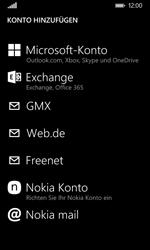 Nokia Lumia 635 - E-Mail - Konto einrichten - 2 / 2