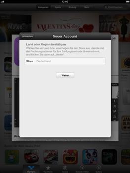 Apple iPad mini - Apps - Konto anlegen und einrichten - 8 / 21