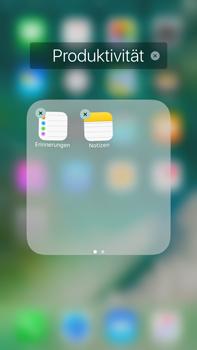 Apple Apple iPhone 7 Plus - Startanleitung - Personalisieren der Startseite - Schritt 7