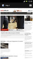 Sony Xperia J - Internet e roaming dati - Uso di Internet - Fase 19