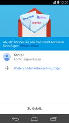 Huawei Ascend P7 - E-Mail - Konto einrichten (gmail) - 1 / 1