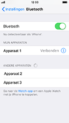 Apple iPhone 5s - iOS 12 - bluetooth - headset, carkit verbinding - stap 6