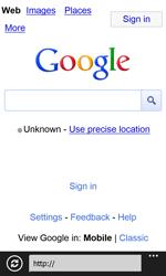 Nokia Lumia 820 / Lumia 920 - Internet and data roaming - Using the Internet - Step 7
