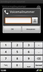 Acer Liquid S100 - Voicemail - handmatig instellen - Stap 7