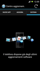 Sony Xperia J - Software - Installazione degli aggiornamenti software - Fase 10