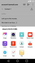 LG LG G5 - E-mail - Sending emails - Step 12