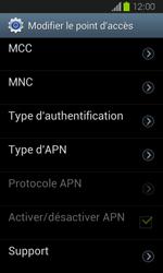 Samsung Galaxy Express - Internet et roaming de données - Configuration manuelle - Étape 13