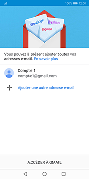 Huawei Mate 10 Pro - Android Pie - E-mail - 032a. Email wizard - Gmail - Étape 12