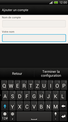 HTC One X - E-mail - Configuration manuelle - Étape 16