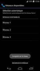 Wiko Highway Pure - Réseau - Sélection manuelle du réseau - Étape 11
