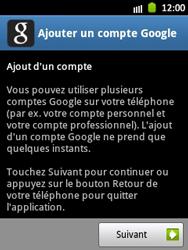 Samsung Galaxy Pocket - Applications - Configuration de votre store d