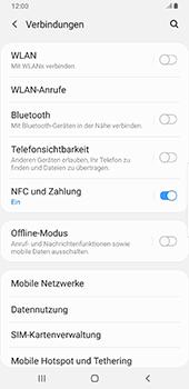 Samsung Galaxy Note9 - Android Pie - Netzwerk - Manuelle Netzwerkwahl - Schritt 5