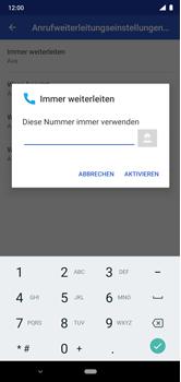 Nokia 6.1 Plus - Android Pie - Anrufe - Rufumleitungen setzen und löschen - Schritt 12