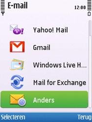 Nokia 6700 slide - E-mail - Handmatig instellen - Stap 9