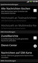 HTC Desire - SMS - Manuelle Konfiguration - 6 / 8