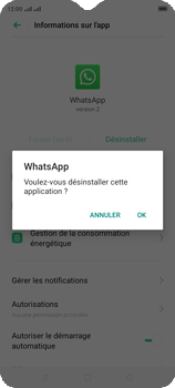 Oppo A9 2020 - Applications - Supprimer une application - Étape 7