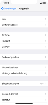 Apple iPhone X - Apps - Apps deinstallieren - 4 / 8