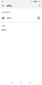 Huawei Mate 10 Pro - Android Pie - MMS - Manuelle Konfiguration - Schritt 15
