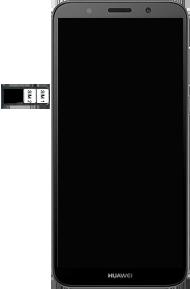 Huawei Y5 (2018) - SIM-Karte - Einlegen - 7 / 9